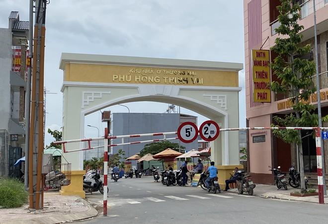 Dự án Phú Hồng Thịnh 8 tại P.An Phú hiện nay  /// Ảnh: Đỗ Trường
