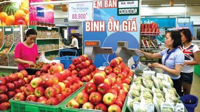 Chương trình bìnhổn thị trường các mặt hàng thiết yếu trênđịa bàn thành phố Hà Nội năm 2020