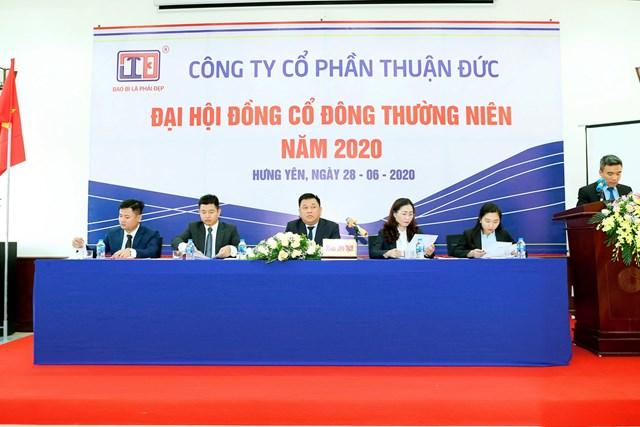 Công ty Cổ phần Thuận Đức tổ chức Đại hội đồng cổ đông thường niên năm 2020 (Ảnh: IT)