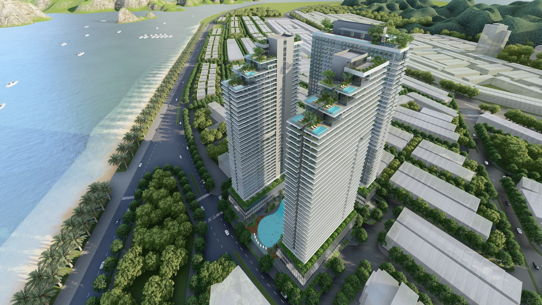 Dự án 2.500 tỉ của Long Giang Land tại Hạ Long được duyệt qui hoạch - Ảnh 1.