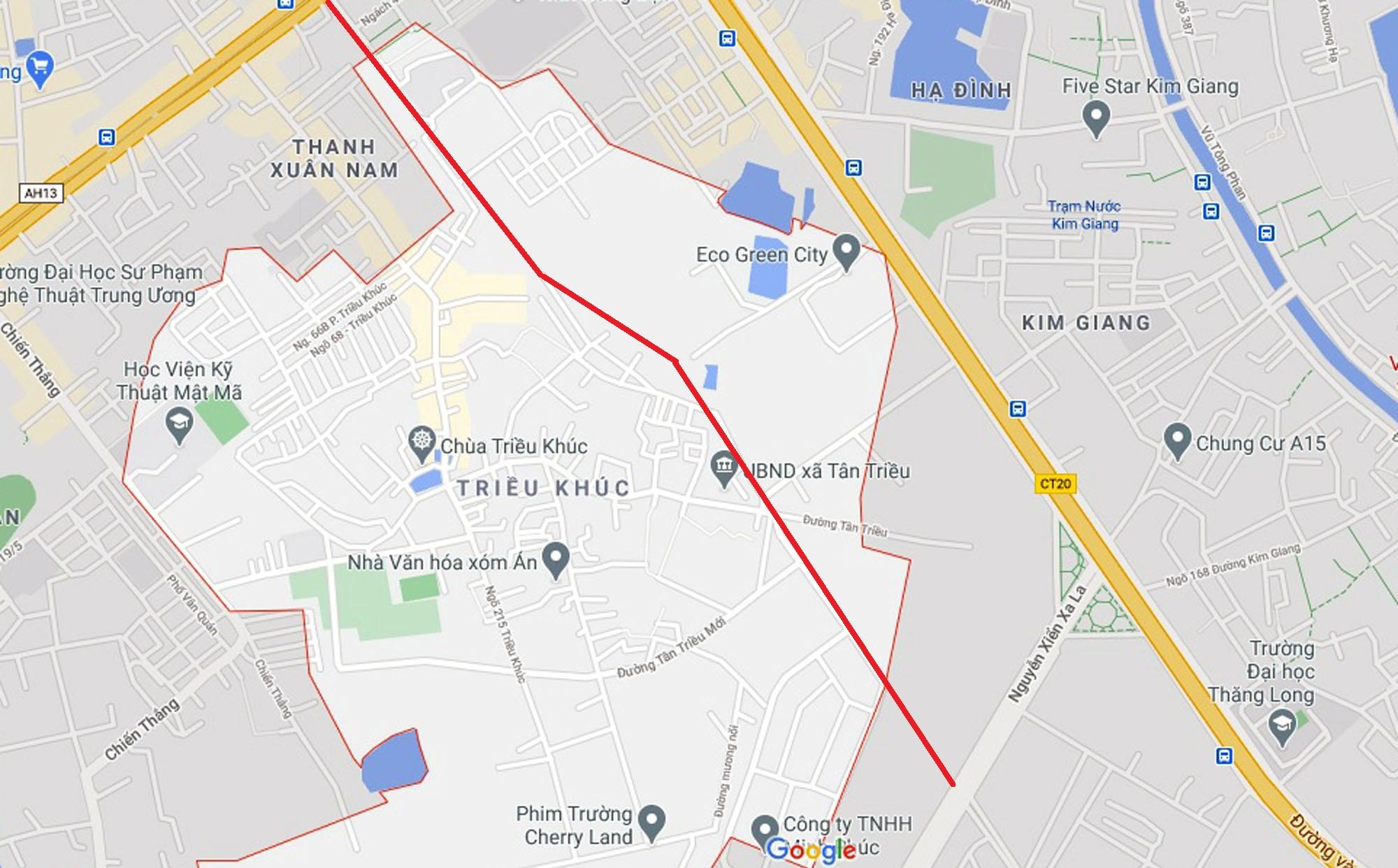 đường sẽ mở theo quy hoạch ở xã Tân Triều, Thanh Trì, Hà Nội - Ảnh 7.