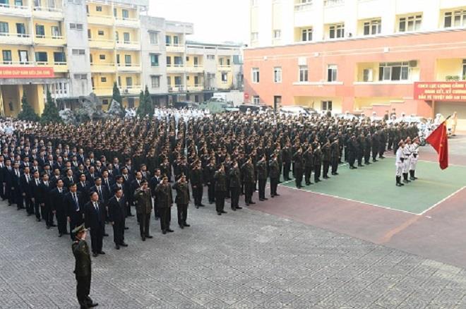 Bộ Tư lệnh Cảnh vệ diễn tập xử lý các tình huống bảo vệ Đại hội XIII của Đảng - 1