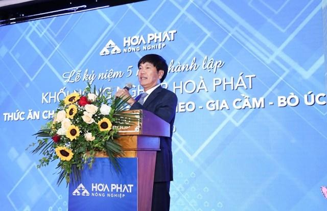 Ông Trần Đình Long - Chủ tịch Tập đoàn Hòa Phát. (Ảnh:hoaphat.com.vn).