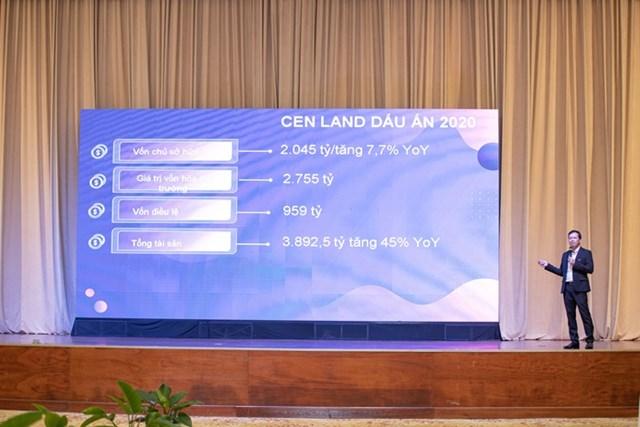 Cen Land lên kế hoạch tăng trưởng 89% doanh thu trong năm 2021 - Ảnh 1