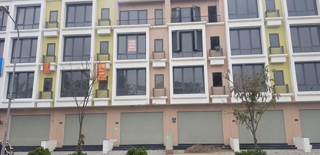 Các căn hộ liền kề đã bắt đầu cho thuê