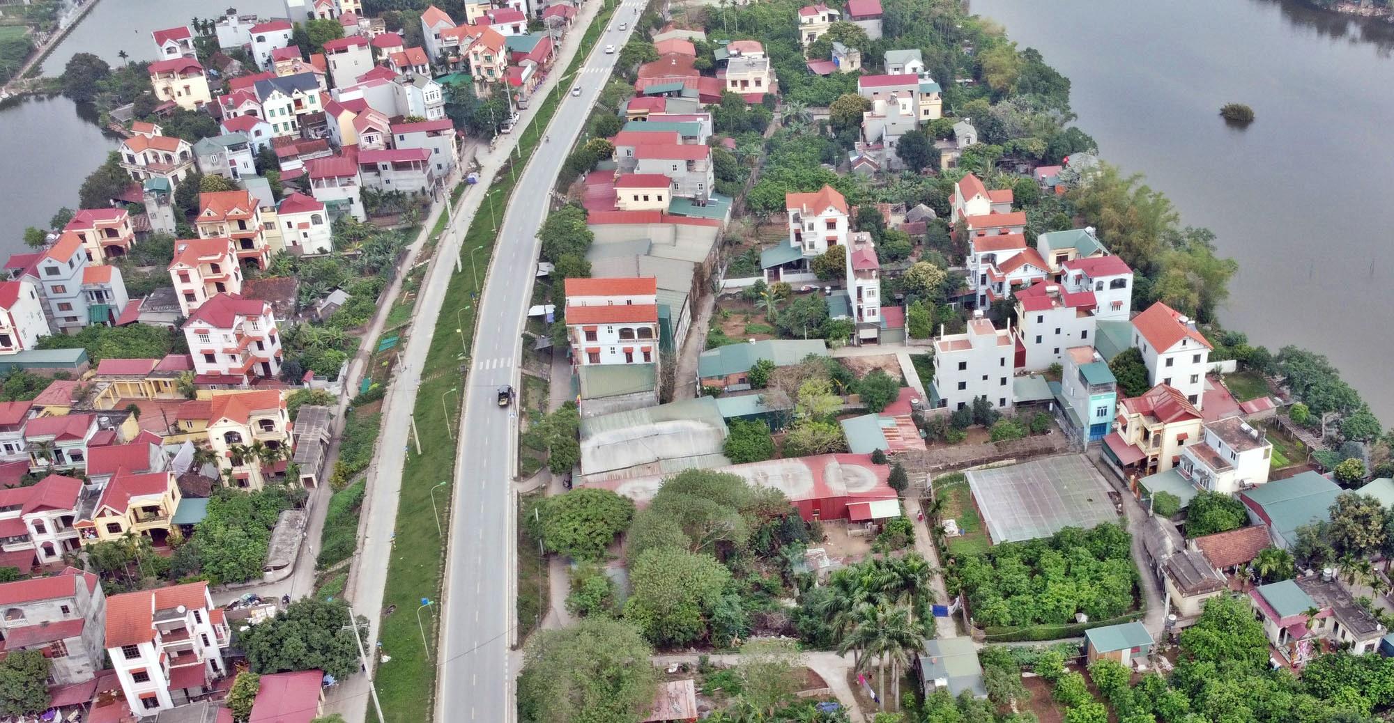 Toàn cảnh hiện trạng Phân khu đô thị sông Hồng trên địa bàn quận Bắc Từ Liêm - Ảnh 4.