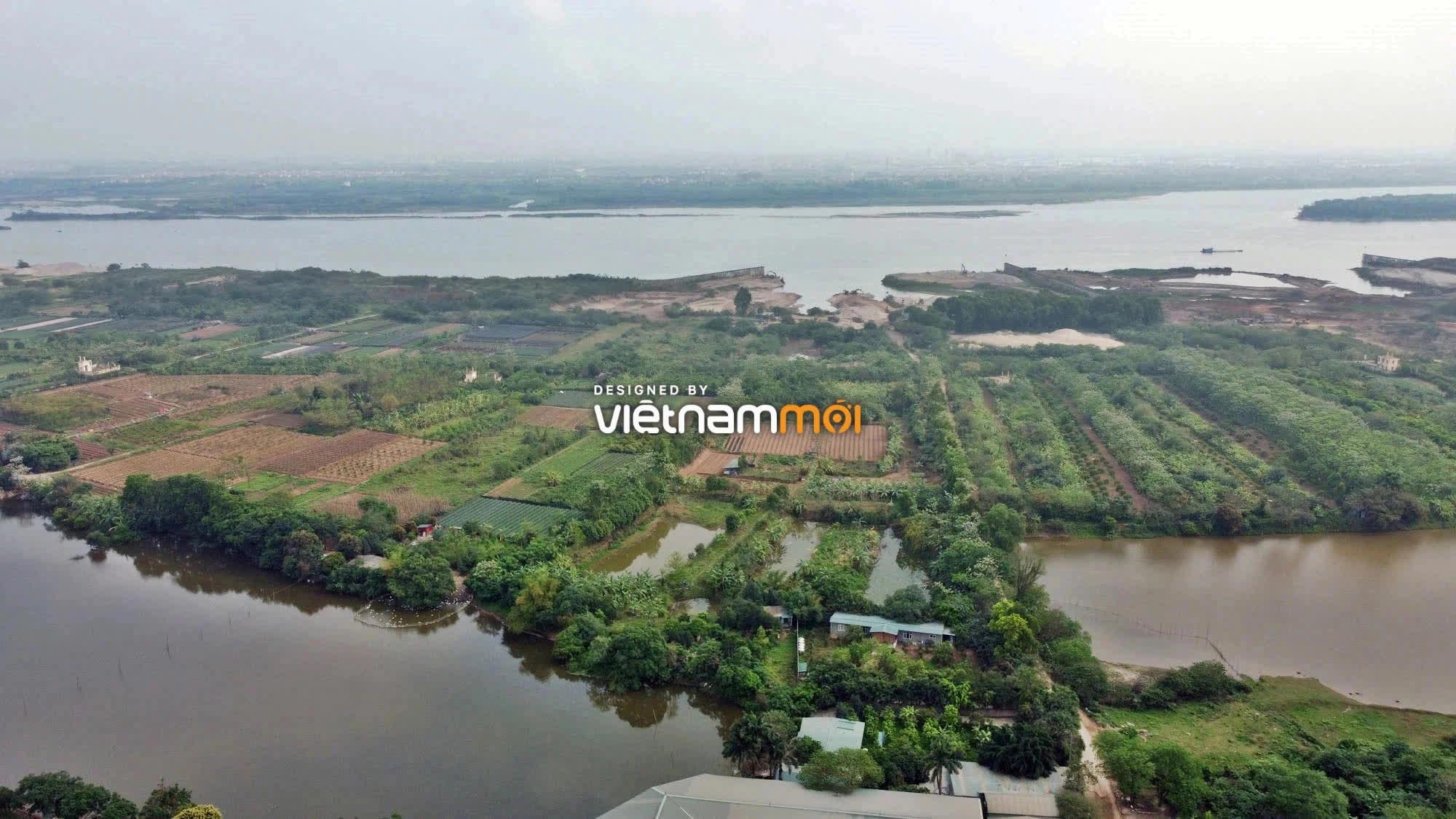 Toàn cảnh hiện trạng Phân khu đô thị sông Hồng trên địa bàn quận Bắc Từ Liêm - Ảnh 6.