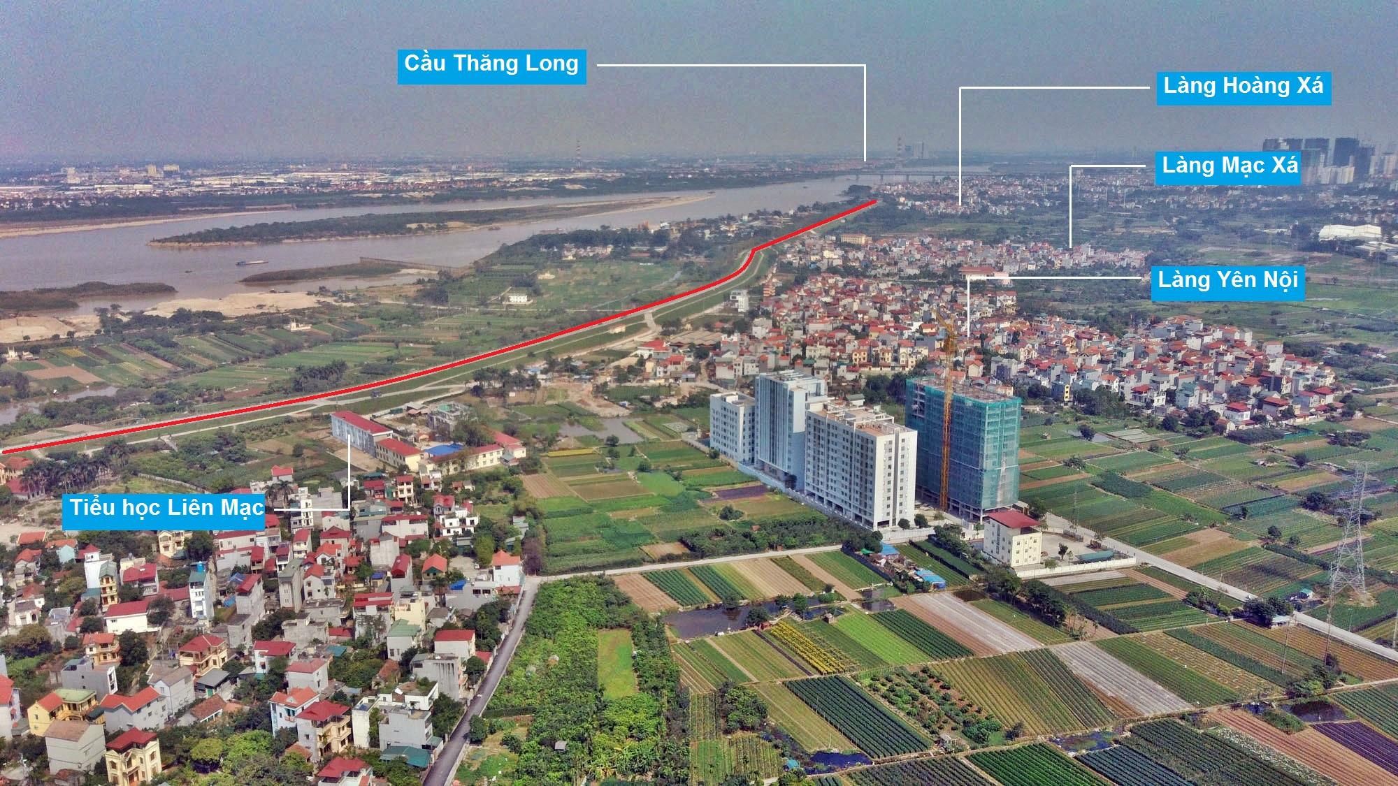 Toàn cảnh hiện trạng Phân khu đô thị sông Hồng trên địa bàn quận Bắc Từ Liêm - Ảnh 10.