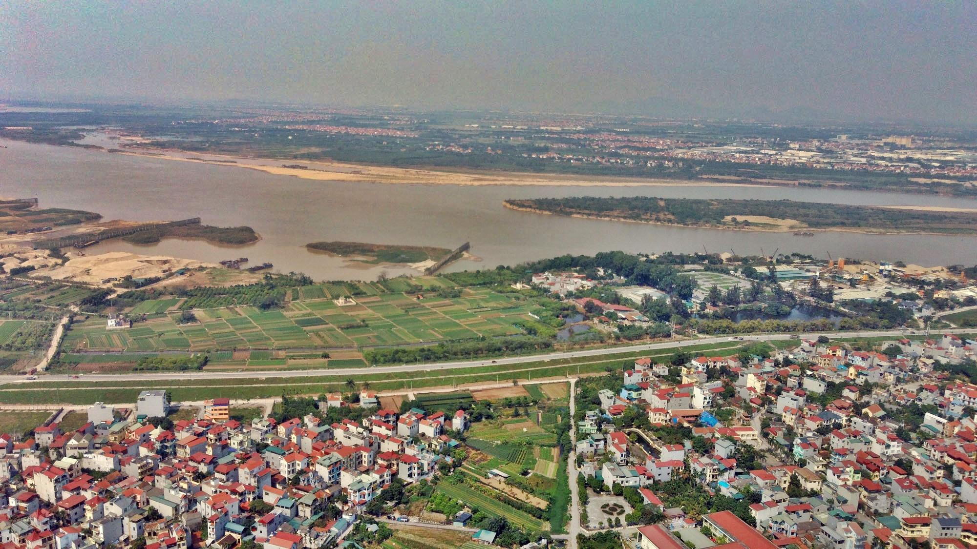 Toàn cảnh hiện trạng Phân khu đô thị sông Hồng trên địa bàn quận Bắc Từ Liêm - Ảnh 11.