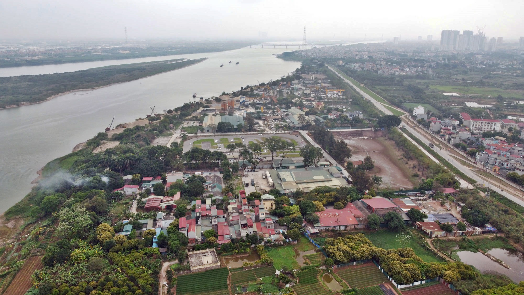 Toàn cảnh hiện trạng Phân khu đô thị sông Hồng trên địa bàn quận Bắc Từ Liêm - Ảnh 16.