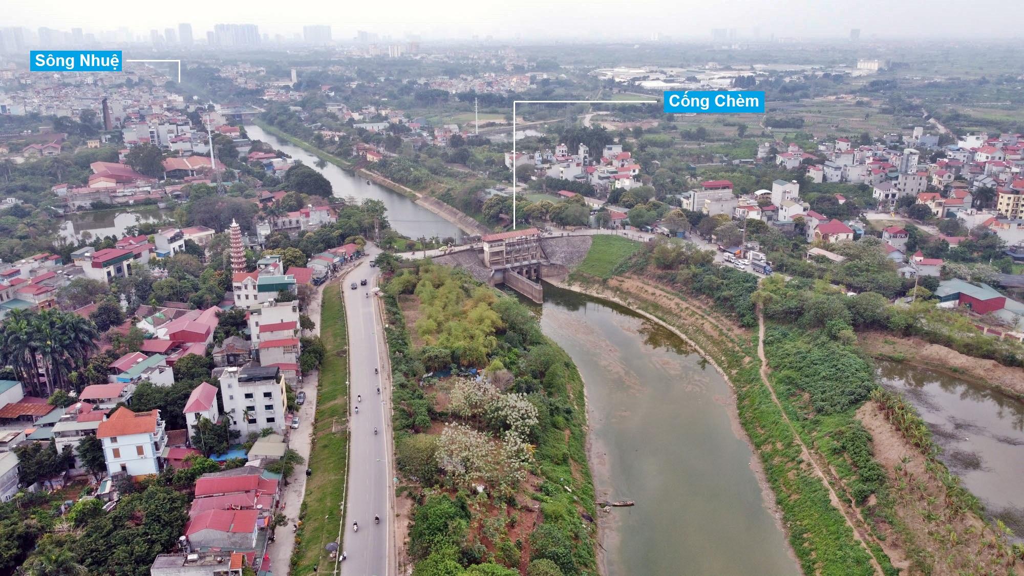 Toàn cảnh hiện trạng Phân khu đô thị sông Hồng trên địa bàn quận Bắc Từ Liêm - Ảnh 20.