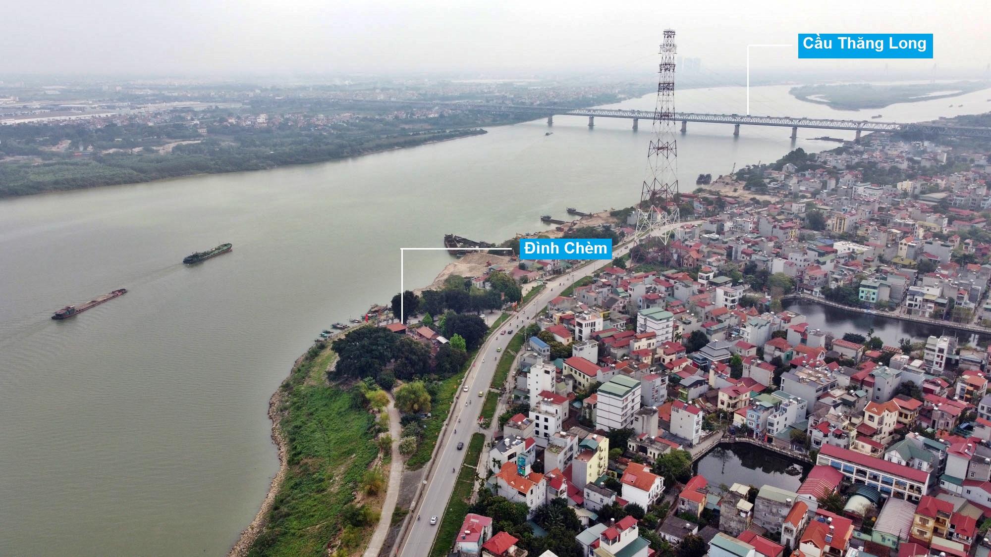 Toàn cảnh hiện trạng Phân khu đô thị sông Hồng trên địa bàn quận Bắc Từ Liêm - Ảnh 23.