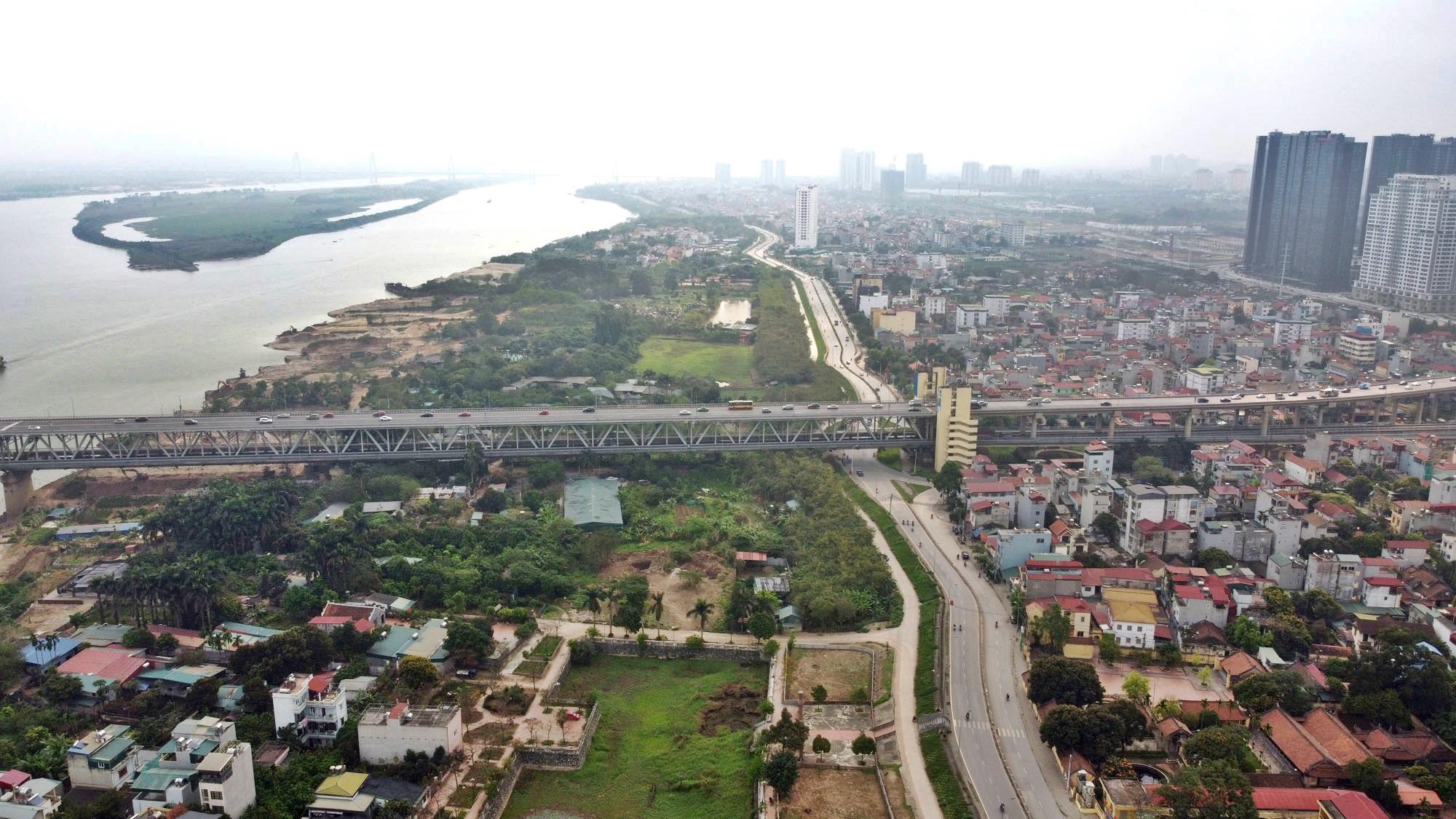 Toàn cảnh hiện trạng Phân khu đô thị sông Hồng trên địa bàn quận Bắc Từ Liêm - Ảnh 29.