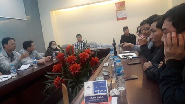 Tổng Công ty Duyên Hải: Đối thoại trực tiếp, giải đáp thắc mắc với cư dân Chung cư 16B Nguyễn Thái Học - Ảnh 1