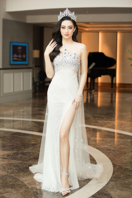 Đỗ Thị Hà nổi bật giữa dàn Hoa hậu tại họp báo Miss World Vietnam 2021 - Ảnh 4.