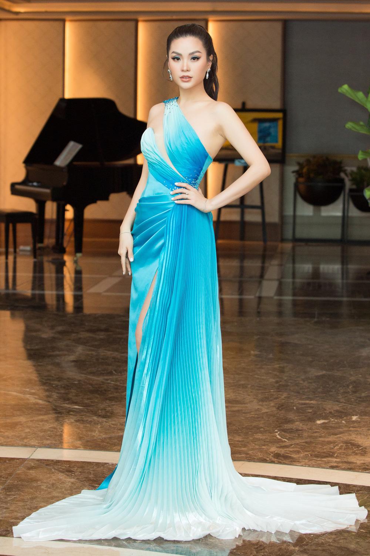 Đỗ Thị Hà nổi bật giữa dàn Hoa hậu tại họp báo Miss World Vietnam 2021 - Ảnh 9.