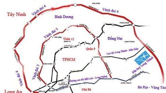 Phấn đấu hoàn thành tuyến Vành đai 3 trong giai đoạn 2021-2026; đồng thời triển khai đồng bộ tuyến Vành đai 4 để hoàn thành trong nhiệm kỳ tiếp theo.