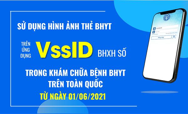 Sử dụng hình ảnh thẻ BHYT trên ứng dụng VssID BHXH số trong khám chữa bệnh BHXH trên toàn quốc từ ngày 01/6/2021 - Ảnh: BHXH Việt Nam