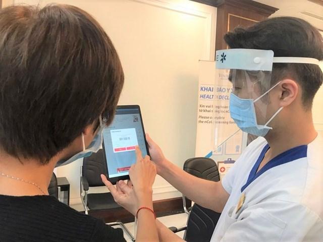 Hà Nội mở rộng đối tượng khai báo y tế điện tử phục vụ phòng, chống dịch Covid-19 - Ảnh minh họa