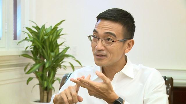 Ông Lê Hải Trà - Tổng giám đốc Sở GDCK TP. Hồ Chí Minh (HOSE) - Ảnh: VTV