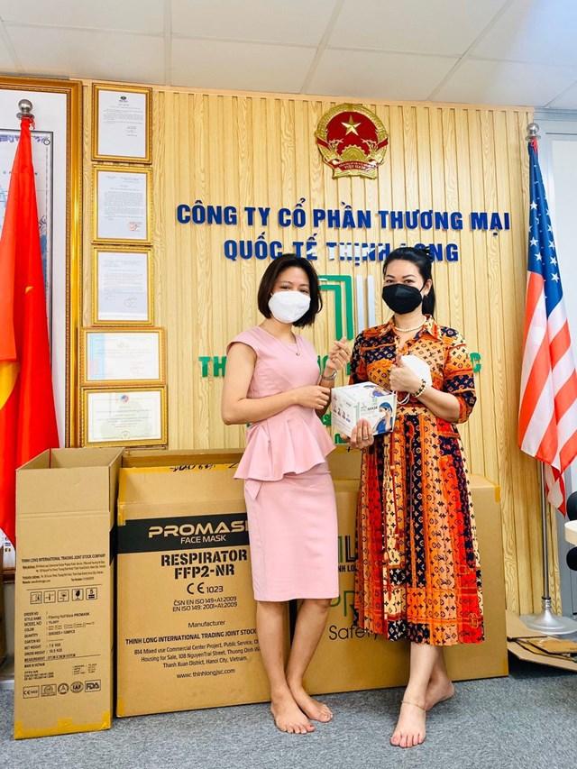 Khẩu trang N95 Promask Thịnh Long góp phần vào công cuộc chống dịch của cả nước