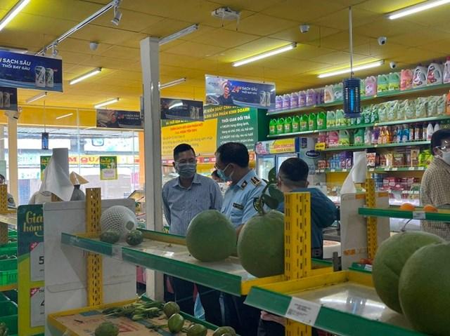 Cục Quản lý Thị trường đã thực tế kiểm tra 75/641 cửa hàng Bách Hoá Xanh trên địa bàn TP.HCM chiều 16/07