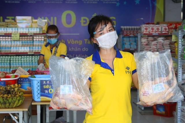 PNJ mở nhiều siêu thị 0 đồng để hỗ trợ người dân bị ảnh hưởng bởi Covid-19 - Ảnh IT