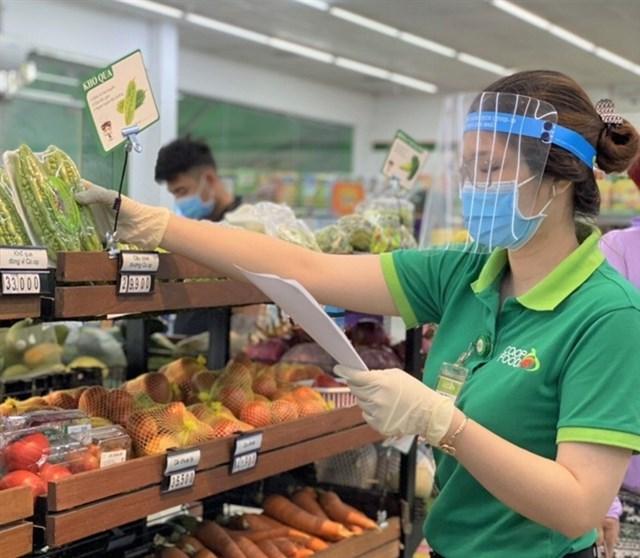 Hàng hóa được bán tại siêu thị Co.opmart. (Ảnh minh họa)
