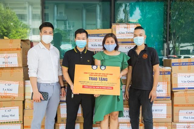 DONA Việt Nam - SAPO Bakery - KUN Bakery: Đồng hành cùng Công an quận Hà Đông đẩy lùi dịch Covid-19 - Ảnh 3