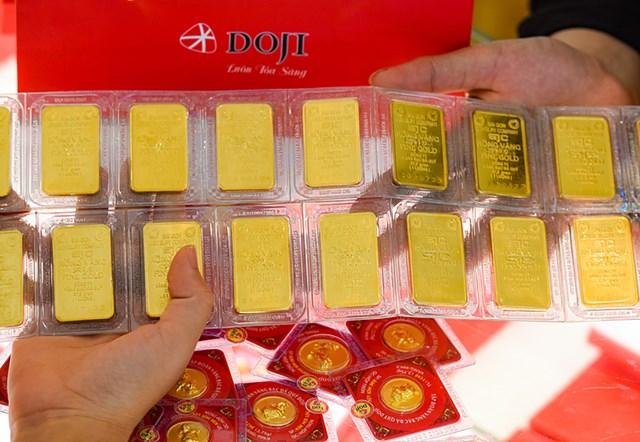 Giá vàng hôm nay suy giảm - Ảnh minh họa.