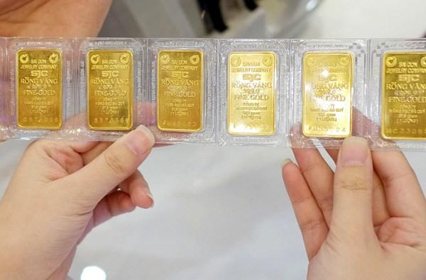 Giá vàng hôm nay chưa thể vượt ngưỡng 1.800 USD/ounce - Ảnh minh họa.