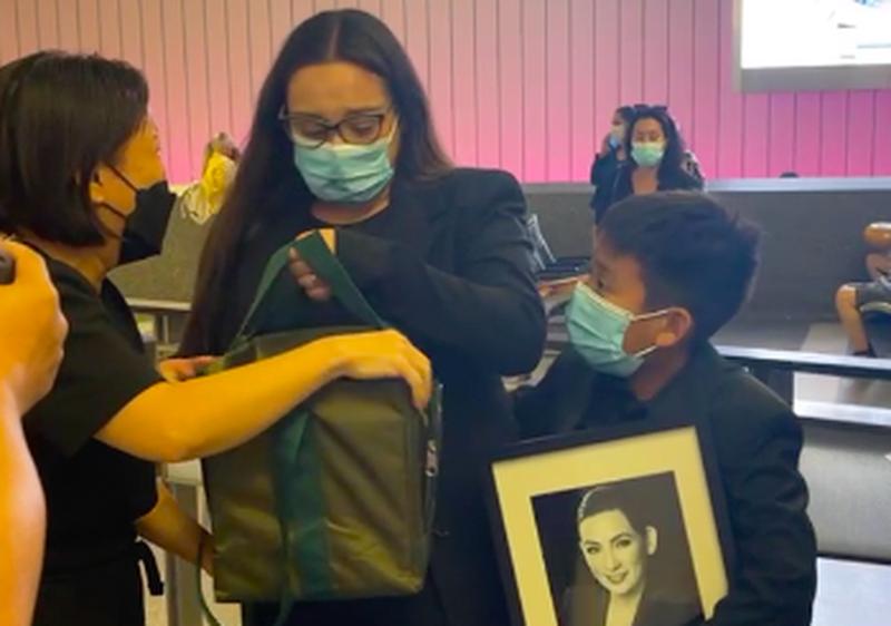 Vợ chồng Việt Hương 'đến thăm' Chí Tài ở Mỹ - ảnh 2