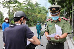 Thủ đô thông thoáng sau 2 ngày kiểm tra giấy đi đường theo chỉ đạo mới