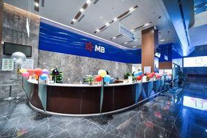 Thu ngoài lãi của MB tăng mạnh trong quý I, nợ xấu tăng gần 30%