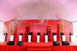 Vingroup khởi công du lịch, dịch vụ, đô thị ven biển Quang Hanh
