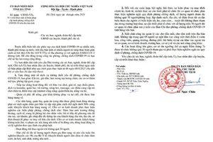 Hà Tĩnh tạm dừng một số dịch vụ không thiết yếu từ 6h ngày 8/8