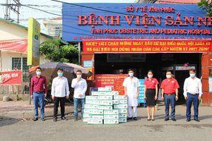 Mộc Châu Milk hỗ trợ hơn 50.000 sản phẩm sữa cho lực lượng tuyến đầu và người dân nơi tâm dịch Covid-19