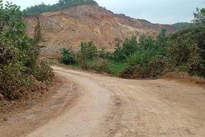 Ninh Bình: Khai thác đất trái phép