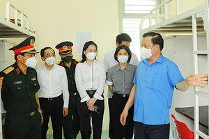 Bí thư Thành ủy Hà Nội Đinh Tiến Dũng: Huy động sức dân để tăng cường kiểm tra, kiểm soát, sớm khống chế dịch