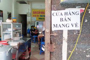 Hà Nội: Quận, huyện nào được phép bán hàng mang về từ 12 giờ ngày 16/9?