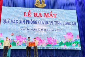 Tập đoàn Thắng Lợi tiếp tục đồng hành với tỉnh Long An trong công tác phòng chống dịch