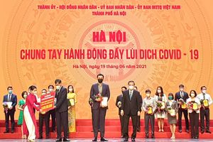 Tập đoàn Tân Hoàng Minh ủng hộ 20 tỷ đồng, quyết tâm cùng Hà Nội đẩy lùi dịch Covid – 19