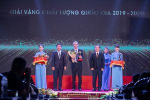 TH true MILK đạt giải Vàng Chất lượng quốc gia 2019 - 2020