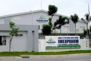 Imexpharm giảm 14% lợi nhuận trong tháng 8 do ảnh hưởng dịch bệnh