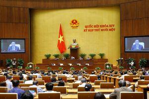 Thông cáo báo chí số 10, Kỳ họp thứ 11, Quốc hội khóa XIV