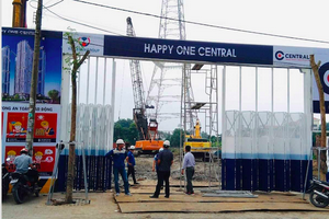Dự án Happy One Central của Vạn Xuân Group huy động vốn trái phép