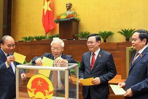 Hôm nay, Quốc hội bầu Phó Chủ tịch nước và Tổng Kiểm toán
