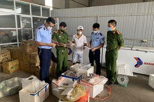 Thái Nguyên: Phát hiện 100kg thịt đông lạnh không rõ nguồn gốc