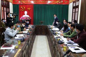 UBND xã Hương Mạc: Quyết liệt thực hiện đợt cao điểm phòng, chống dịch Covid-19