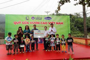 Quỹ Sữa vươn cao Việt Nam và Vinamilk đến với những trẻ em khó khăn vùng cao Yên Bái